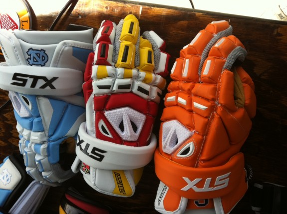 Best of the West Tiger Blood STX Lacrosse Gloves