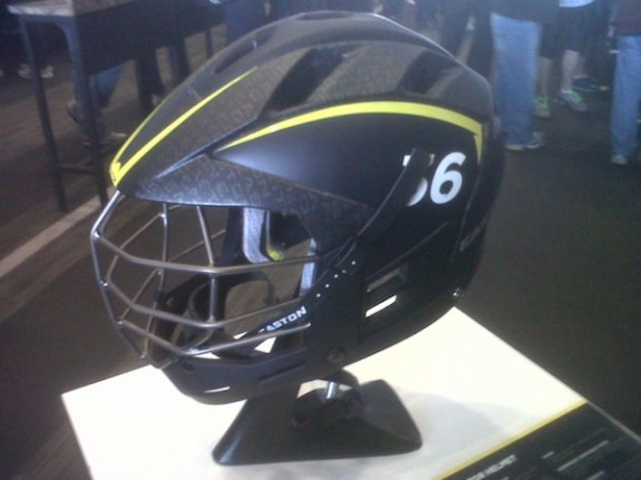 The new Raptor Helmet by Easton Lacrosse