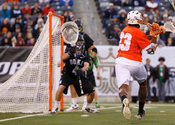 Cuse closes out Duke 13-11- 1