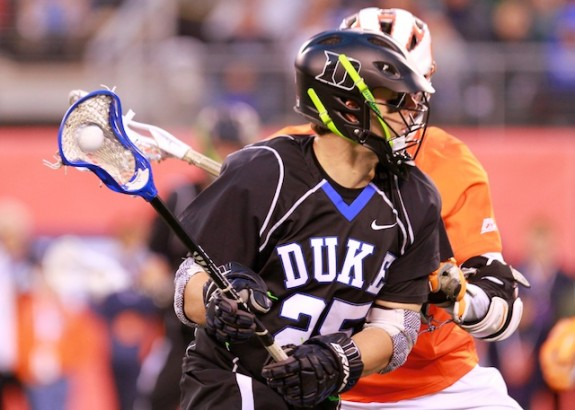 Cuse closes out Duke 13-11- 14