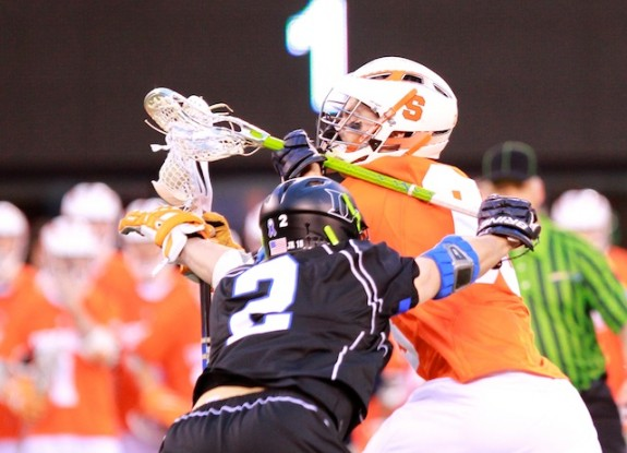 Cuse closes out Duke 13-11- 2