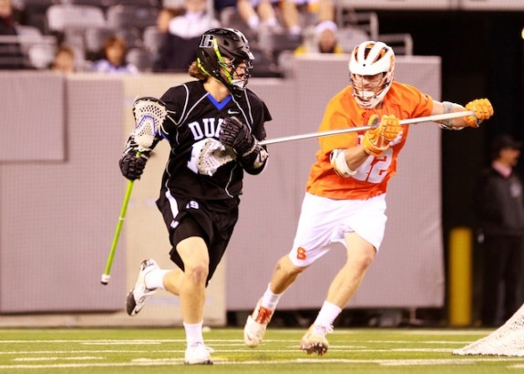 Cuse closes out Duke 13-11- 21