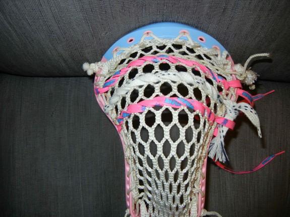 Brine Clutch 2X lacrosse head salt shakerz shooting strings