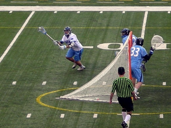 Big City Classic Hopkins UNC lacrosse