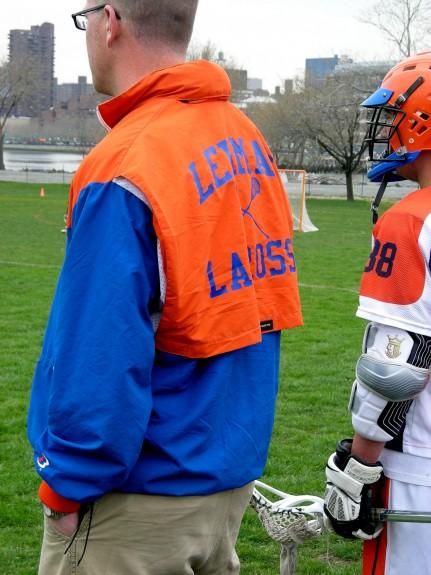 Old School Boathouse vintage lacrosse jacket Lehman HS NYC