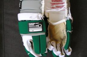 vintage Brine L-35 lacrosse gloves
