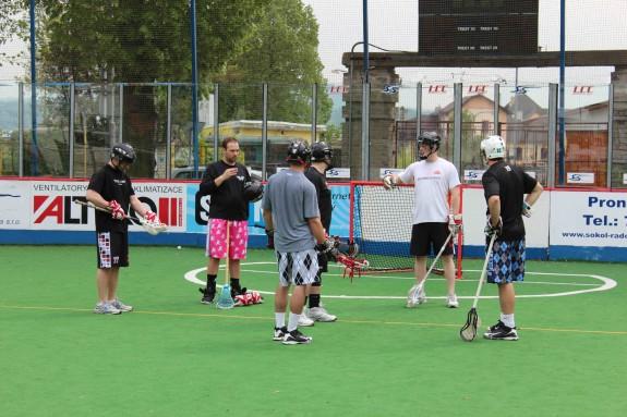 UNited LC lacrosse box lax practice