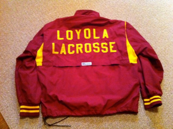 Loyola Lacrosse Boathouse Jacket
