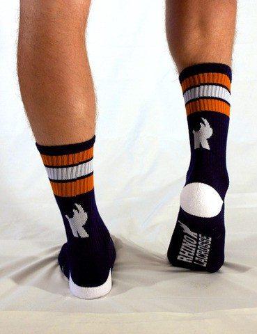 Rhino Lacrosse Syracuse Socks