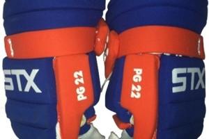 PG22-stx lacrosse gloves vintage