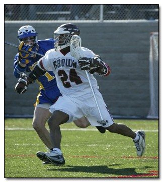 Chazz Woodson Brown Lacrosse