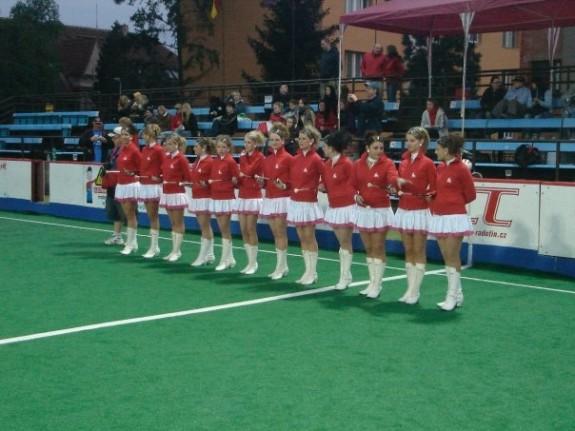 Prague box lacrosse dancers