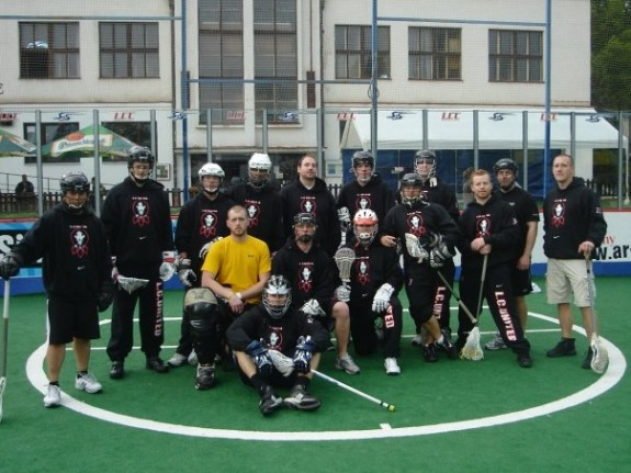 Prague box lacrosse LC United Philly boxla