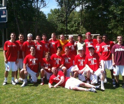 Rutgers NCLL playoffs team picture