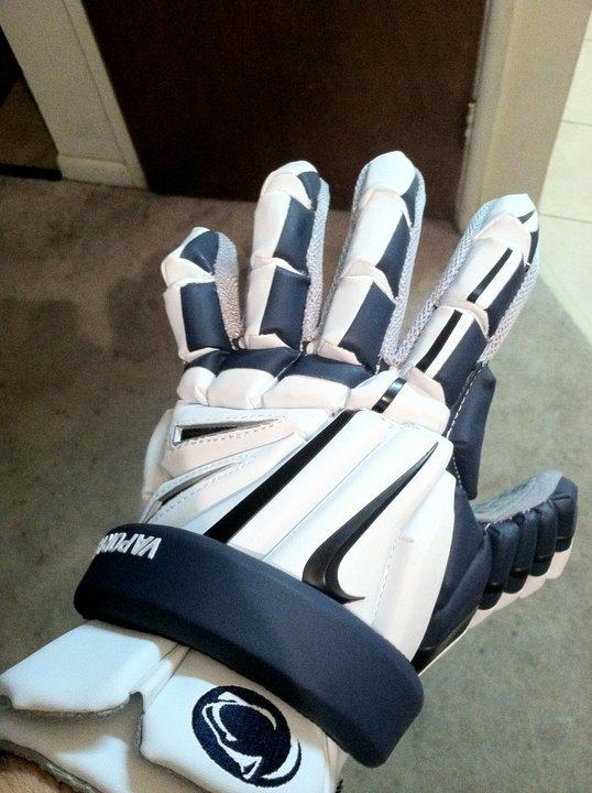 Penn State Club helmet nike vapor elite glove