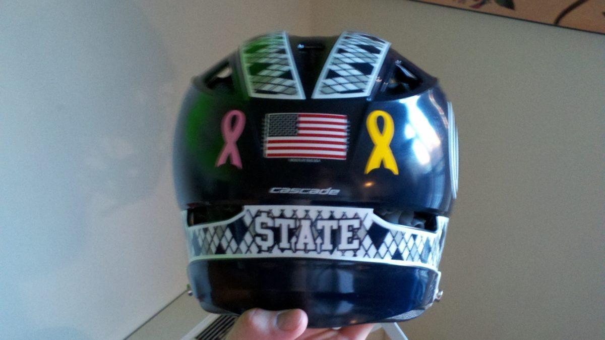 Penn State Club helmet