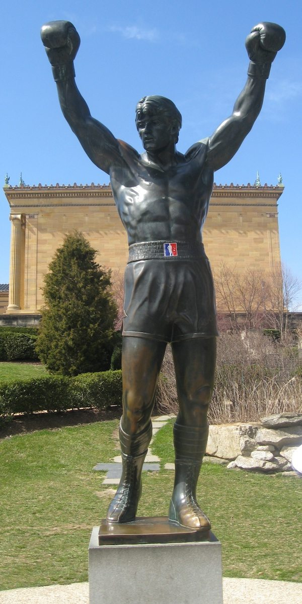 Rocky Statue Lax All Stars Sticker