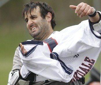 Dave Zoni Brookdale lacrosse
