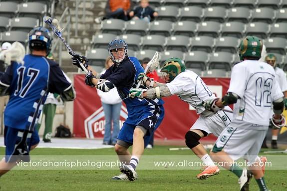 BYU Colorado State MCLA Semis 2011 Lacrosse lax