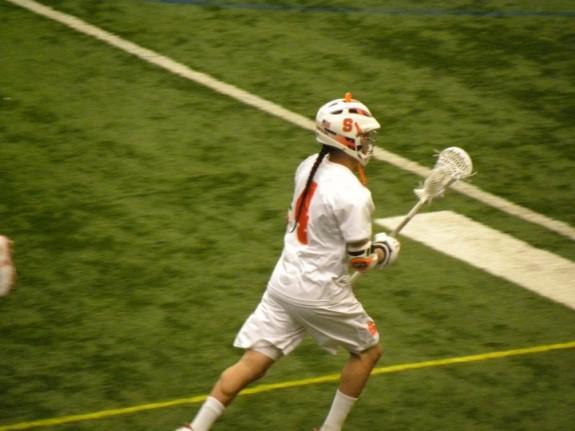 Jeremy Thompson mesh stringing lacrosse