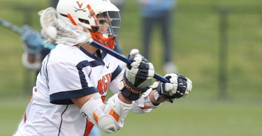 Steele Stanwick running the show. Virginia Cavalier Lacrosse