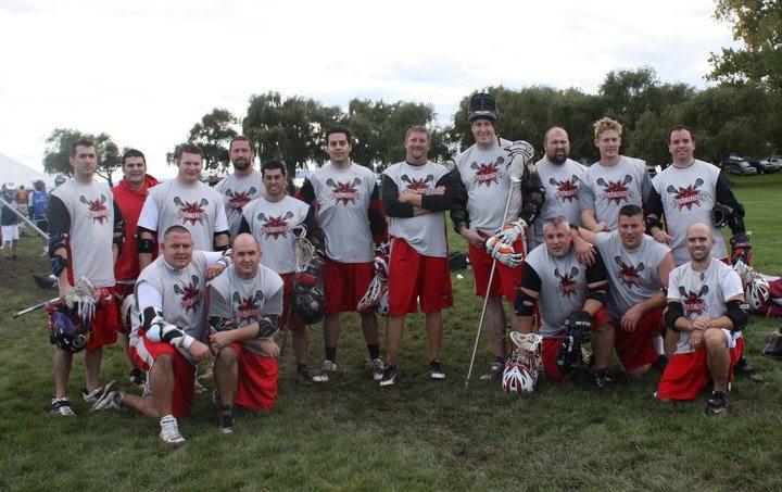 The Machine Lacrosse Team Photo