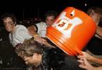 Lake Highland Prep Lacrosse Florida lax coach spaulding gatorade bath