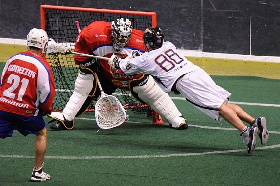 Iroquois Box lacrosse WILC 2011 lax Czech Republic