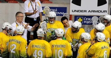 Team Australia World Indoor Lacrosse Championships 2011 Prague