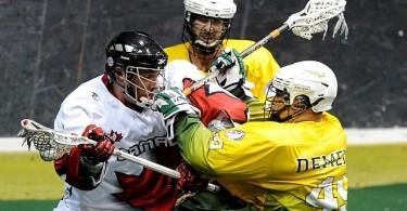 Australia vs. canada WILC indoor lacrosse