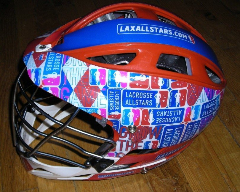 Lax All Stars Head Wrapz lacrosse helmet wrap