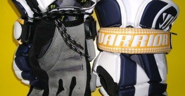 Warrior Riot Lacrosse gloves