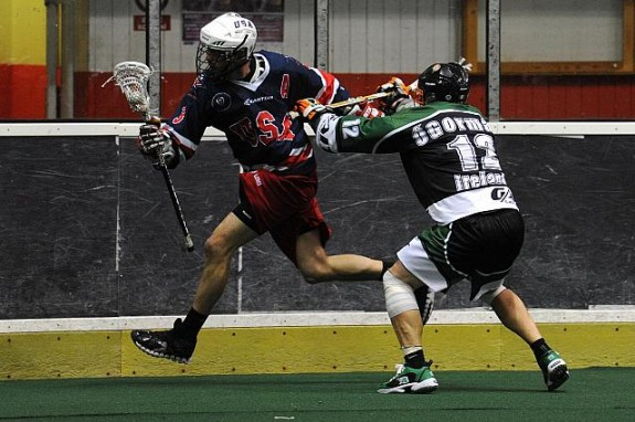 USa Box lacrosse WILC 2011 lax Ireland