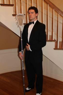 Corbin Craven Prom date lacrosse