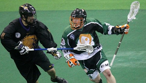 Ireland Iroquis box lacrosse WILC