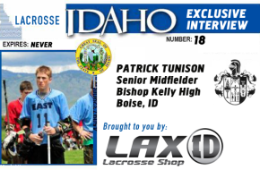 Lax ID Patrick Tunison interview
