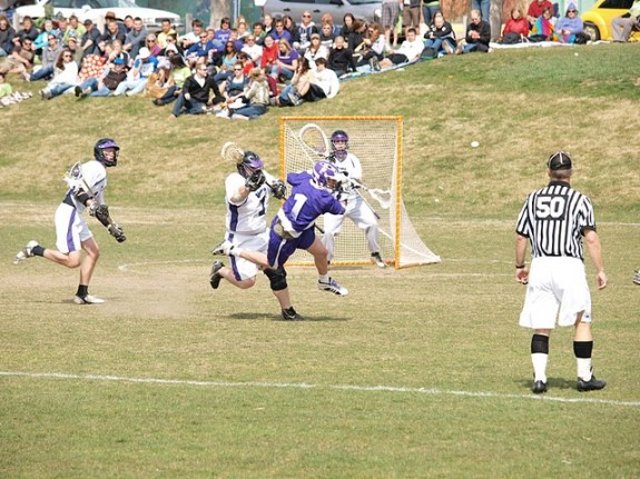 Big college lacrosse hit