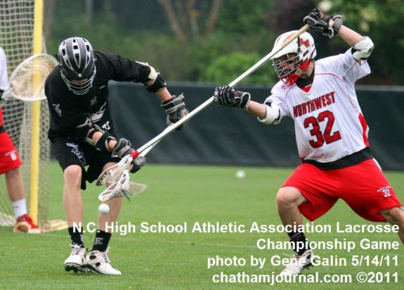 Zach Sprague NorthWest High School Lacrosse NC