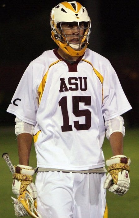 Ryan Westfall inside out lacrosse dye ASU lax