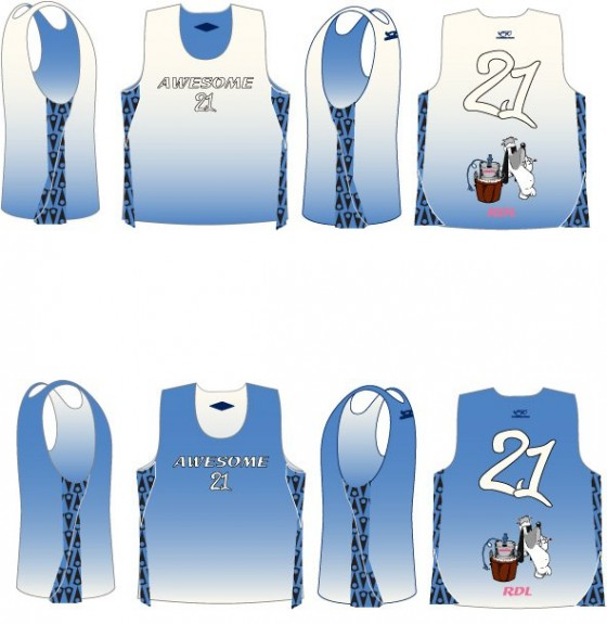 Team Awesome Vail Shootout Lacrosse Uniforms
