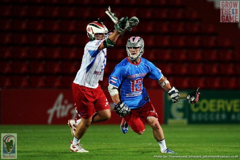 Glenn Morley David Ogle Thailand Lacrosse Invitational Grow The Game