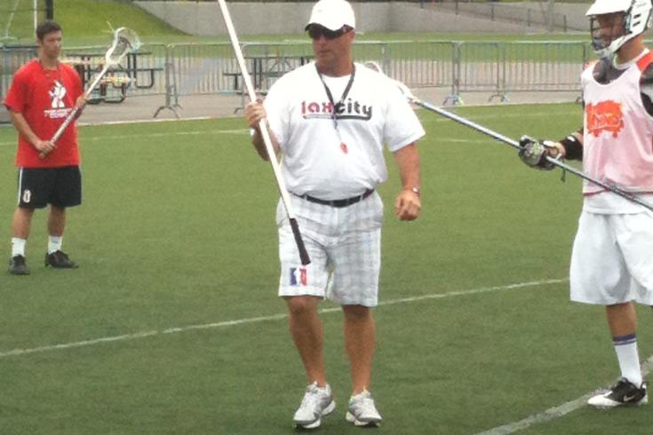 Coach V repping some LAS