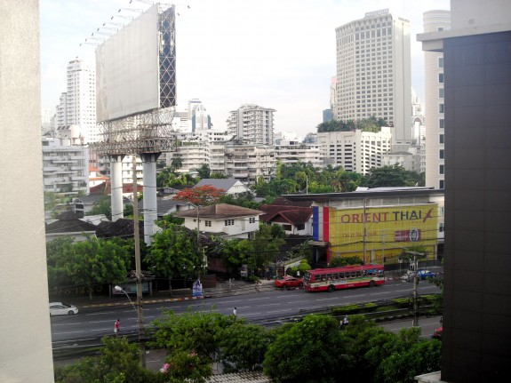 Bangkok Thailand Morning time View from Citadines hotel