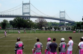 Salt Shakerz Invitational NYC bridge lacrosse