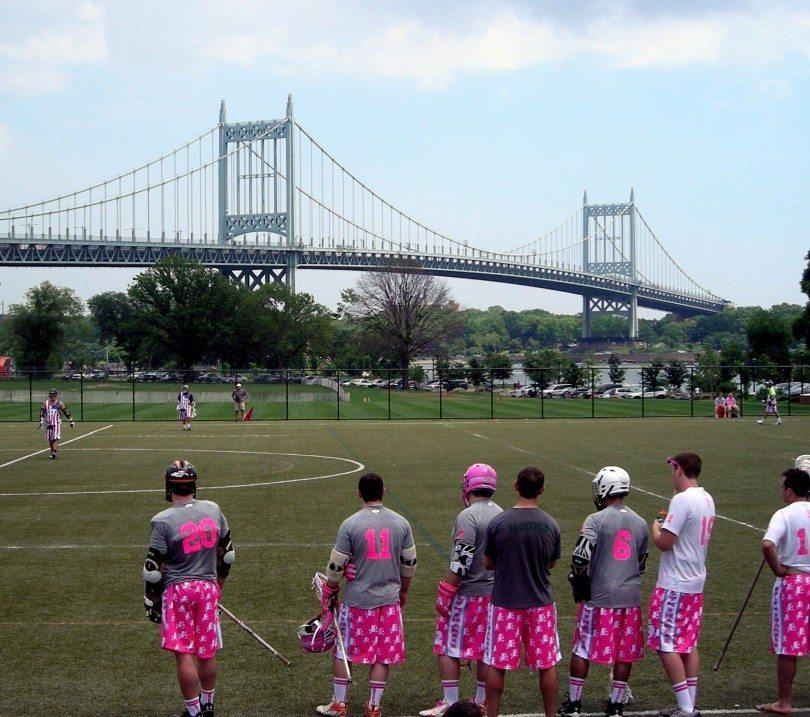 Salt Shakerz Invitational NYC bridge lacrosse