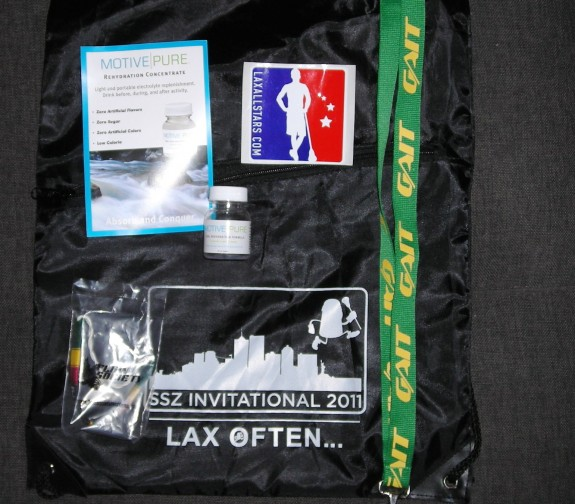 Salt Shakerz Invitational Swag Bag lax