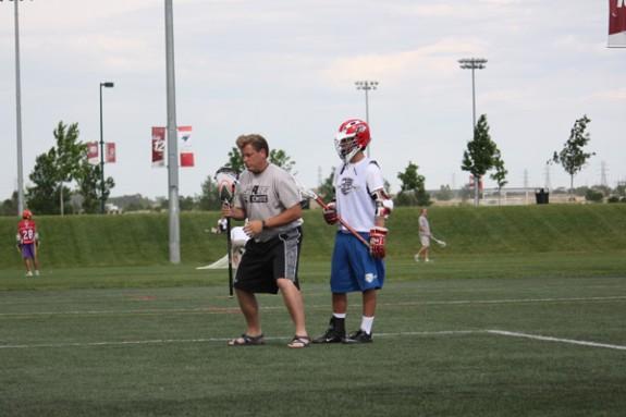 Coach Jason Lamb DU Team Camp
