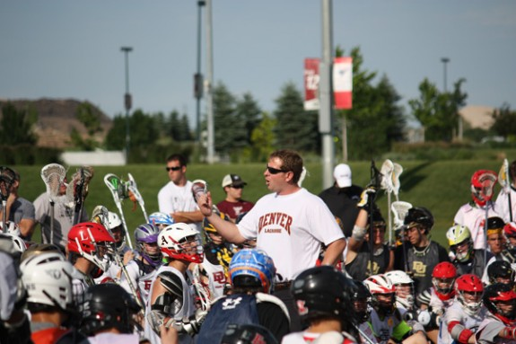 Denver Lacrosse Camp Matt Brown