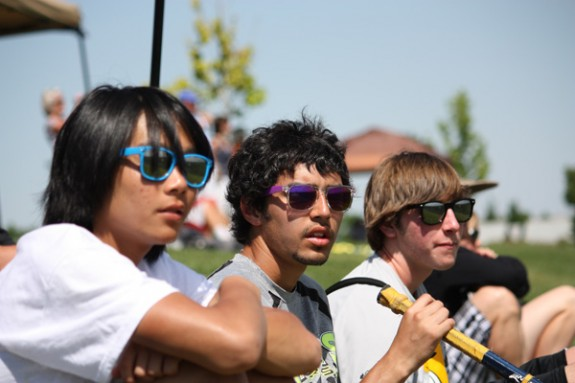 Man-Bro Bro-Man Sunglasses, Denver Lacrosse Team Camp