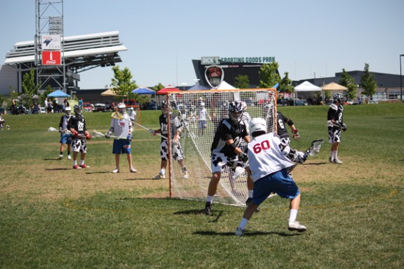 Milkmen lax! Denver team camp